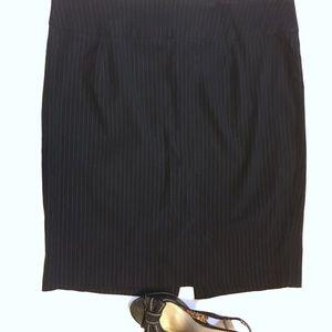 Pin stripe pencil skirt | Lane Bryant